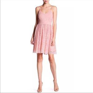 DEVLIN SELMA, Party Dress   Blush Size Large